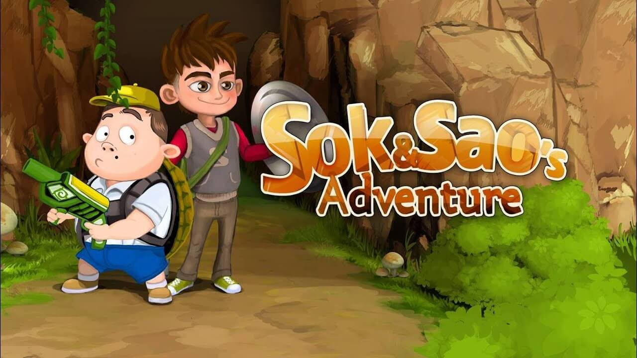 Sok and Sao's Adventure Banner